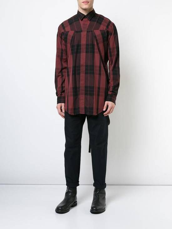 Julius Red Check Panel Shirt Size US M / EU 48-50 / 2 - 2