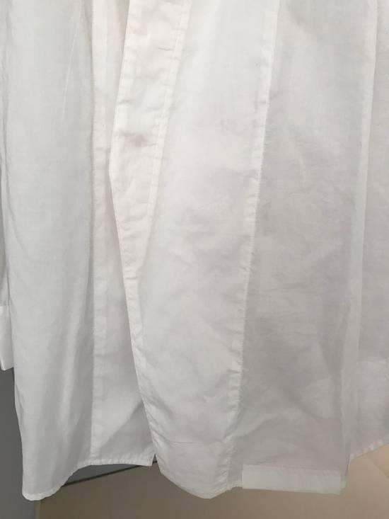 Julius SS16 long shirt with no collar Size US L / EU 52-54 / 3 - 2