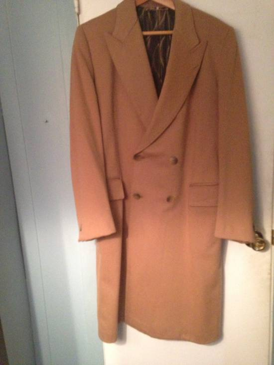 Balmain Camel Overcoat Size US L / EU 52-54 / 3 - 5