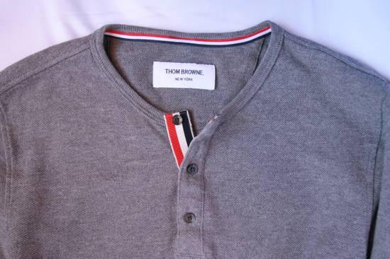 Thom Browne Long Sleeve Henley Size US XS / EU 42 / 0 - 2