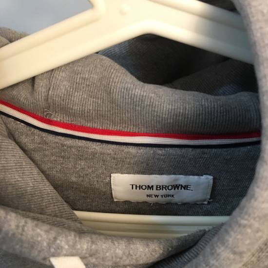 Thom Browne [RARE] Gray Thom Brown 4 Striped Pullover Hoodie Size 2 Size US M / EU 48-50 / 2 - 7