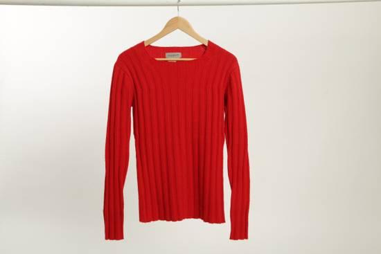 Yohji Yamamoto Yohji Yamamoto 1996 Crimson Red Sweater Size m ...
