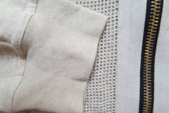 Balmain Zipped Up Cotton/Linen Hoodie Size US XL / EU 56 / 4 - 4