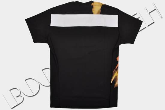 Givenchy Black Cotton Colombian Fit Abstract Paint Tshirt Size US S / EU 44-46 / 1 - 1