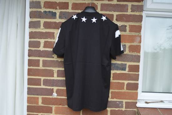 Givenchy Black and White 5 Stars T-shirt Size US XS / EU 42 / 0 - 7