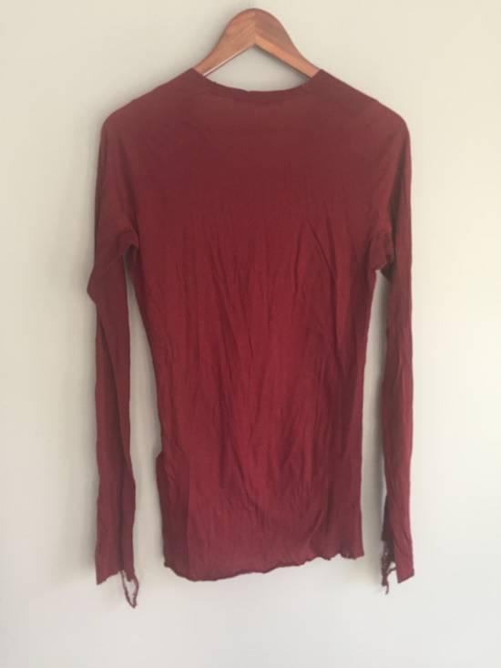 Julius SS09 Cotton/Silk Distressed Longsleeve Size US S / EU 44-46 / 1 - 6