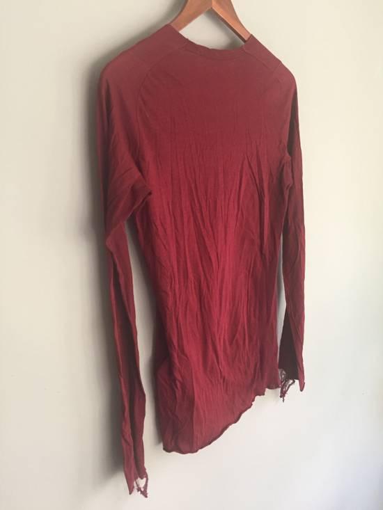 Julius SS09 Cotton/Silk Distressed Longsleeve Size US S / EU 44-46 / 1 - 7