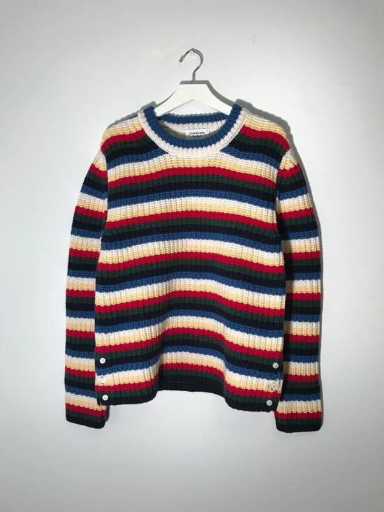 Thom Browne Striped Wool Sweater Size US M / EU 48-50 / 2