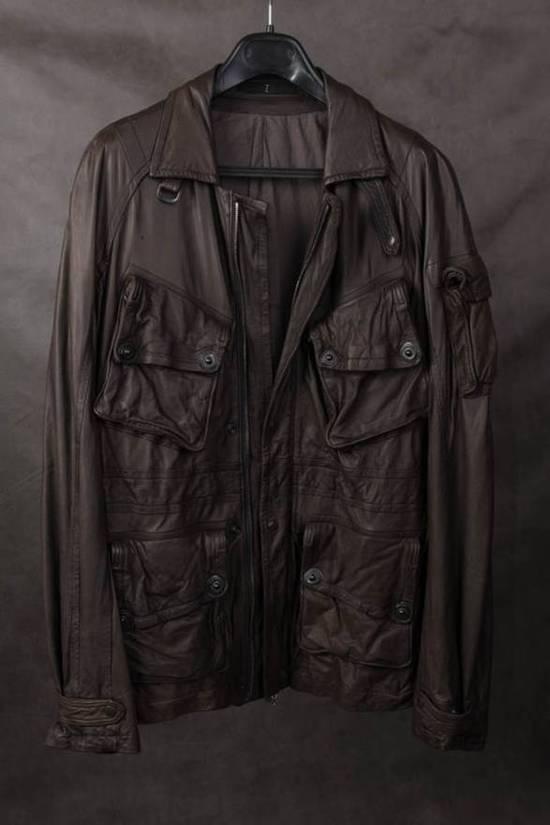 Julius AW08 gasmask M65 leather jckt Size US L / EU 52-54 / 3 - 2