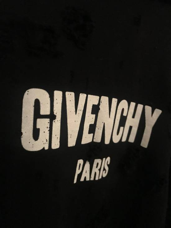 Givenchy Destroyed Hoodie Size US L / EU 52-54 / 3 - 1