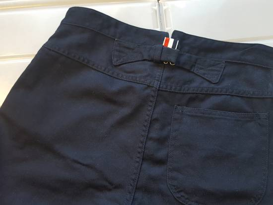 Thom Browne Navy Back-strap Trousers RB2 Size US 30 / EU 46 - 6