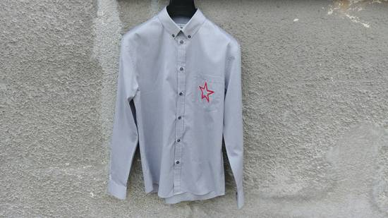 Givenchy $535 Givenchy Star Embroidered Rottweiler Shark Men's Shirt size 40 (M) Size US M / EU 48-50 / 2