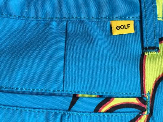 Golf wang golf wang flame pants 32 blue tyler the creator for Golf wang flame shirt