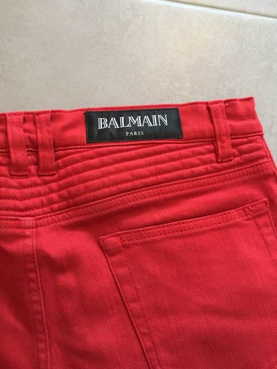 Balmain Jeans balmain biker Red Size US 30 / EU 46 - 6