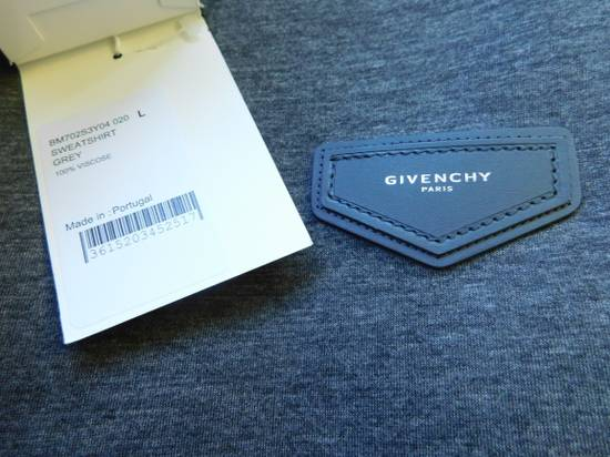 Givenchy New SS18 Givenchy Patch Sweatshirt In Neoprene Grey 100% Authentic Below RRP Size US L / EU 52-54 / 3 - 2