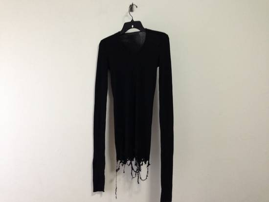Julius Ribbed destroyed L/S shirt Size US S / EU 44-46 / 1