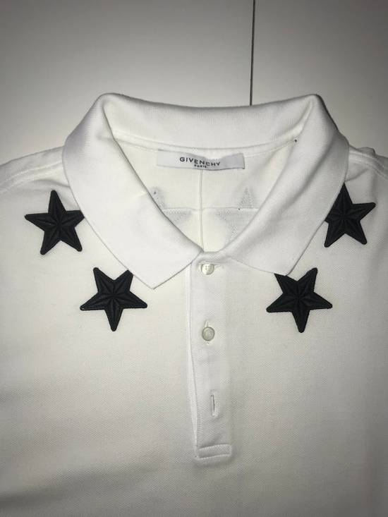 Givenchy Givenchy White Polo With Embroidered Stars Size US XL / EU 56 / 4 - 1