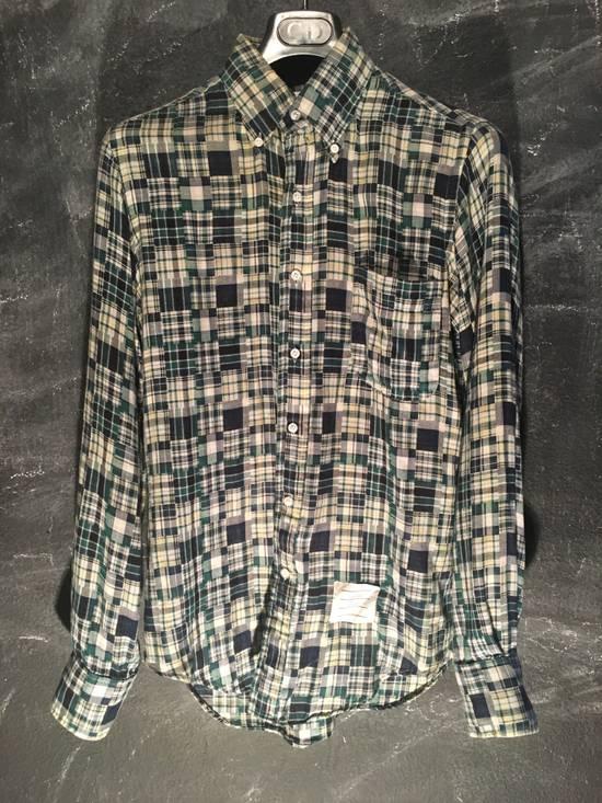 Thom Browne Plaid Madras Shirt Size 2 Size US M / EU 48-50 / 2
