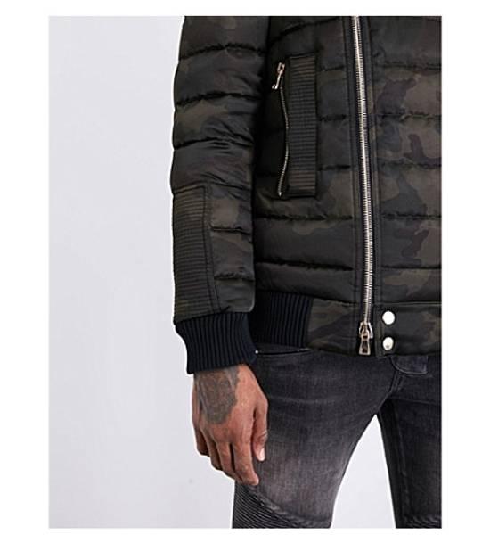 Balmain Camouflage-print shell-down puffer jacket Size US M / EU 48-50 / 2 - 5
