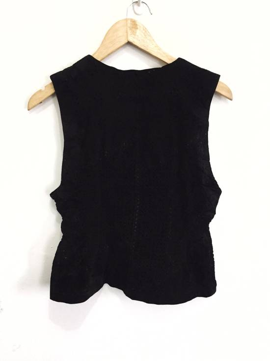 Balmain [ NEED GONE TODAY ! ] Suede Button Vest Jacket Armpit 16x21.5 Size US XS / EU 42 / 0 - 1