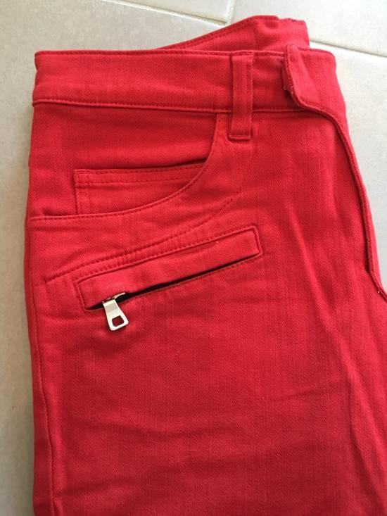 Balmain Jeans balmain biker Red Size US 30 / EU 46 - 7