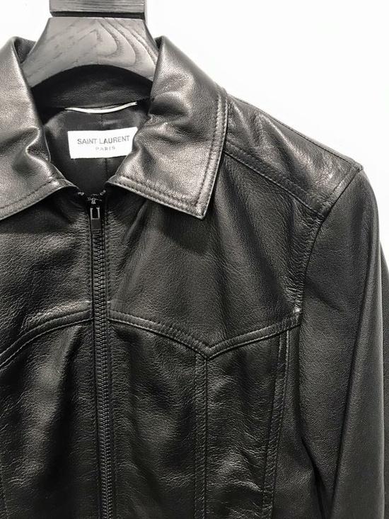 Saint laurent paris leather jacket