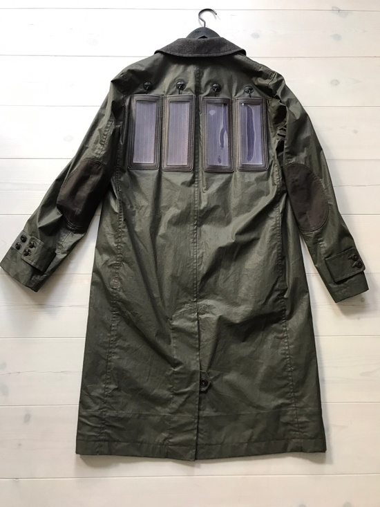 Junya Watanabe Solar Panel Power Macintosh Rain Coat Size US L / EU 52-54 / 3 - 1