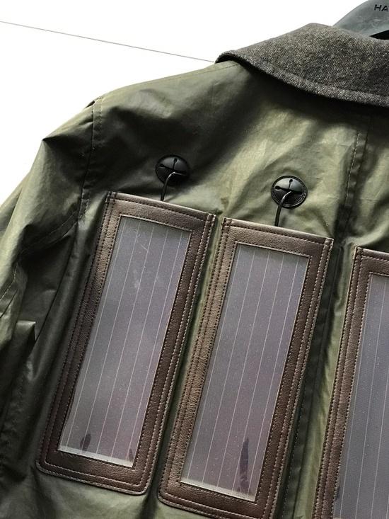 Junya Watanabe Solar Panel Power Macintosh Rain Coat Size US L / EU 52-54 / 3 - 3
