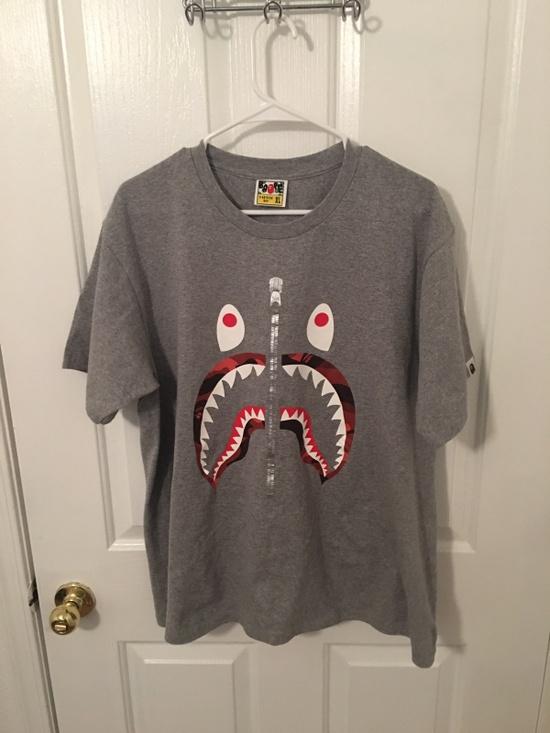 Bape bape t shirt size l short sleeve t shirts for sale for Bape t shirt sizing