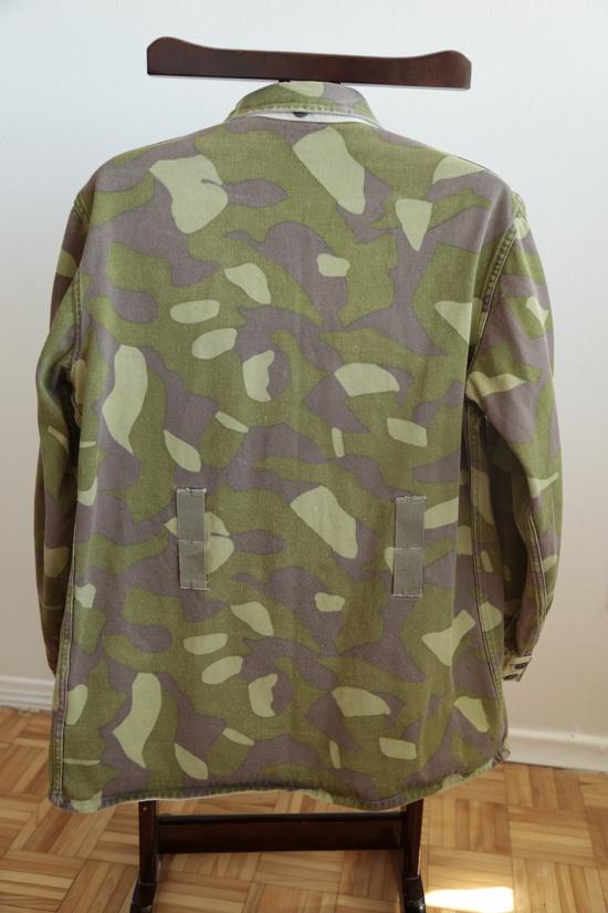 Vintage Summer / Winter Camouflage Jacket - Finnish M62