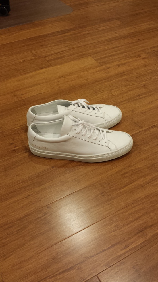 common projects cp achilles low white 42 size 9 hi top sneakers for sale grailed. Black Bedroom Furniture Sets. Home Design Ideas