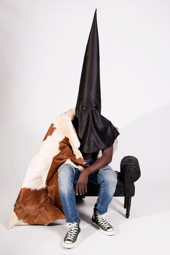 Kanye West KANYE WEST 'BLKKK SKKKN HEAD' MEMORABILIA- conical mask worn in 2013 music video Size ONE SIZE - 6
