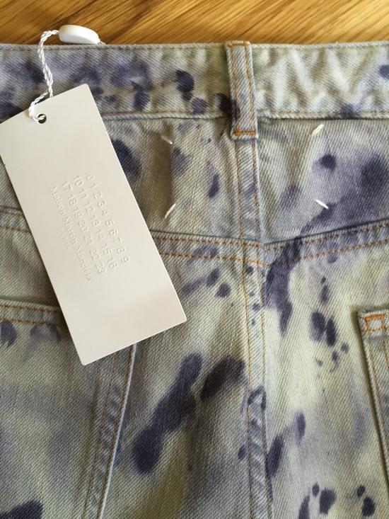 maison margiela tie dye slim jean size 30 denim for sale. Black Bedroom Furniture Sets. Home Design Ideas
