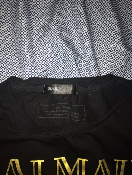 Balmain Balmain Logo Tshirt Size US M / EU 48-50 / 2 - 1