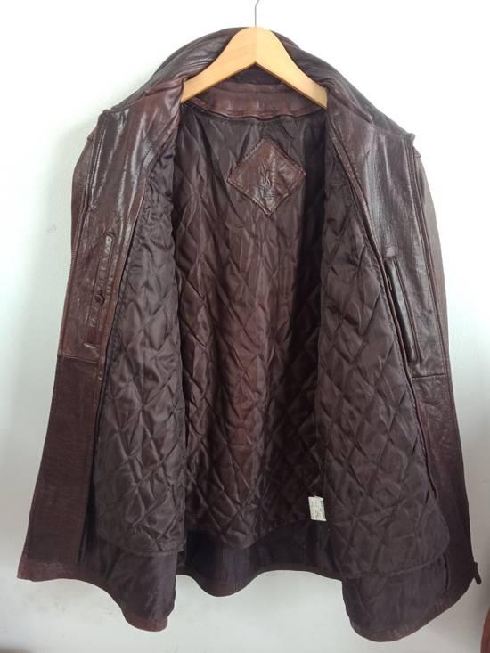 946d6b417c6 ... Vintage Vintage 80S Yves Saint Laurent leather jacket, Rare Size US L /  EU 52 ...