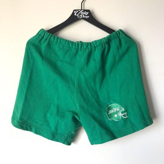 ef4b919b Vintage Logo 7 NFL New York Jets Green Drawstring Shorts