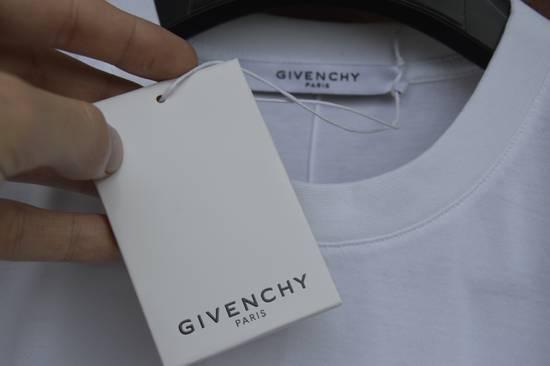 Givenchy White Hem Logo T-shirt Size US XS / EU 42 / 0 - 4