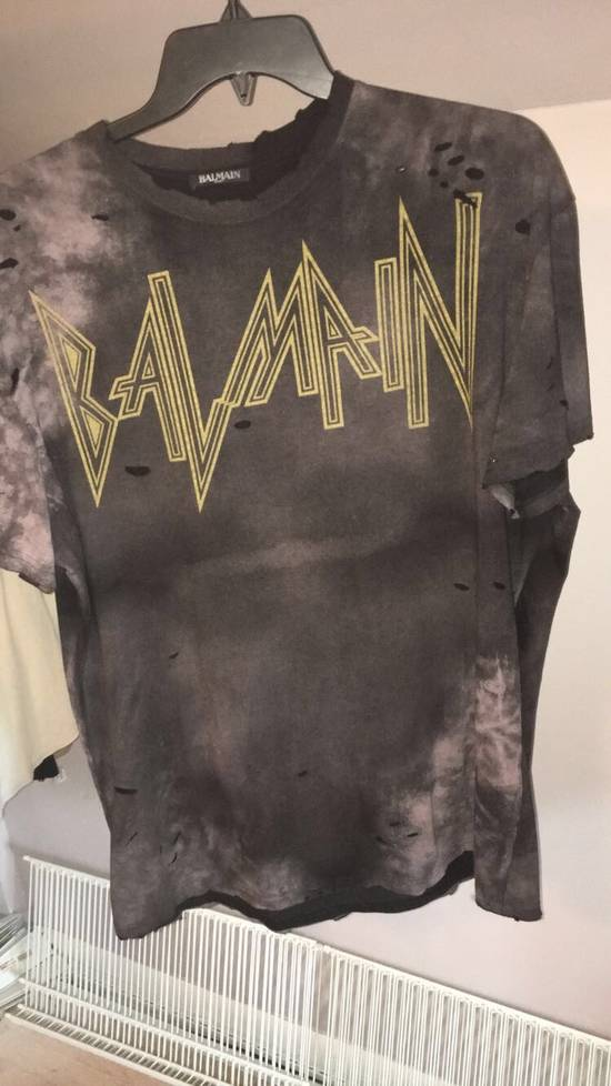 Balmain Distressed T Shirt Heat Size US L / EU 52-54 / 3