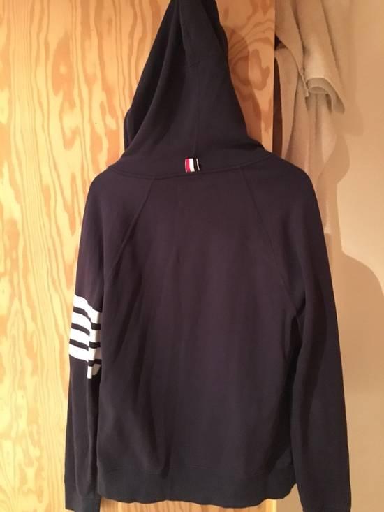 Thom Browne Thom Browne Classic Striped Navy Blue Hoodie Size US L / EU 52-54 / 3 - 6