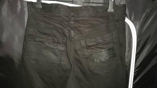 Julius Limited Wrinkle Arch Knee Bottom Zip Biker Jeans Size US 31 - 9