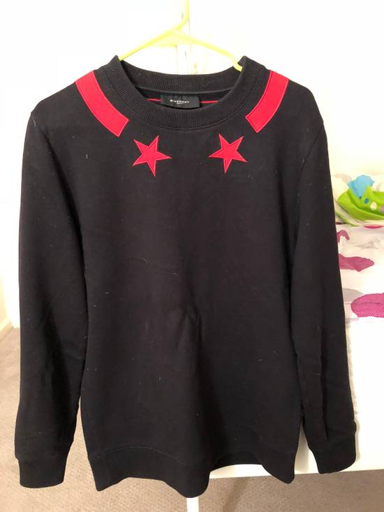 Givenchy Givenchy Black Star And Stripe Sweatshirt Size US XS / EU 42 / 0