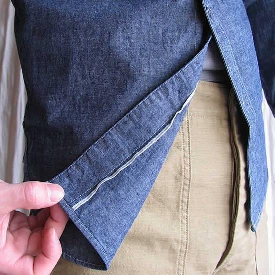 Nigel Cabourn chambray medical shirt Size US L / EU 52-54 / 3 - 2