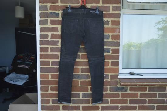 Balmain Black Biker Jeans Size US 30 / EU 46 - 5