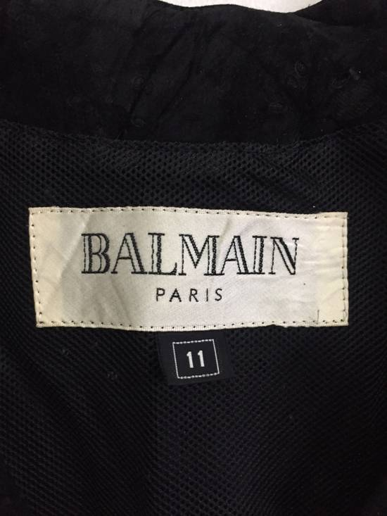 Balmain [ NEED GONE TODAY ! ] Suede Button Vest Jacket Armpit 16x21.5 Size US XS / EU 42 / 0 - 3