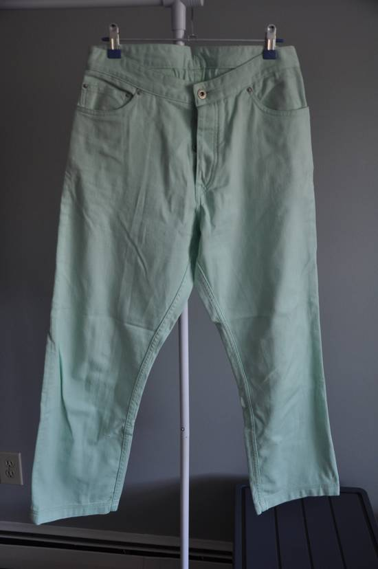 Thom Browne Mint Green Jeans Size US 31 - 2