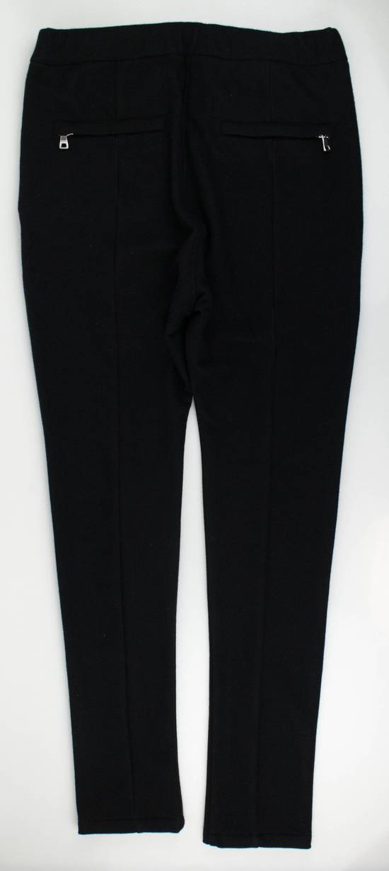 Balmain Men's Black Cashmere with Drawstrings Jogger Pants Size Large Size US 36 / EU 52 - 1