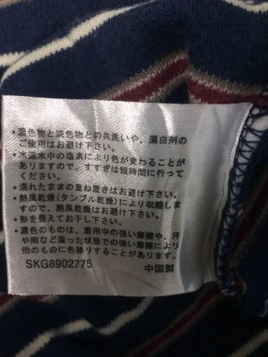 Balmain Stripe L/Sleeve Balmain Pocket T's Large Made in Japan. Size US L / EU 52-54 / 3 - 6