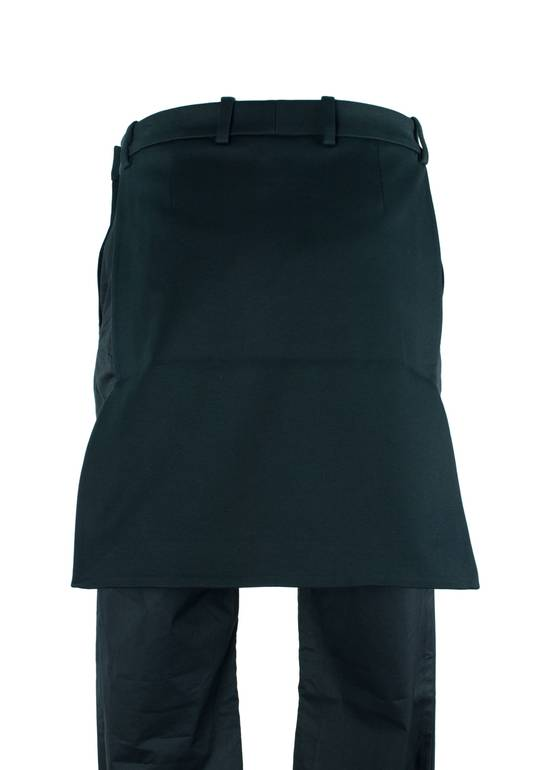 Givenchy Givenchy Men's Black Cotton 17 Introductory Skirt Size US 32 / EU 48 - 2