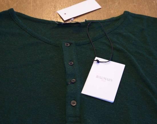 Balmain Balmain $490 Men's Green Sweater Size L Brand New With Tags Size US L / EU 52-54 / 3 - 1