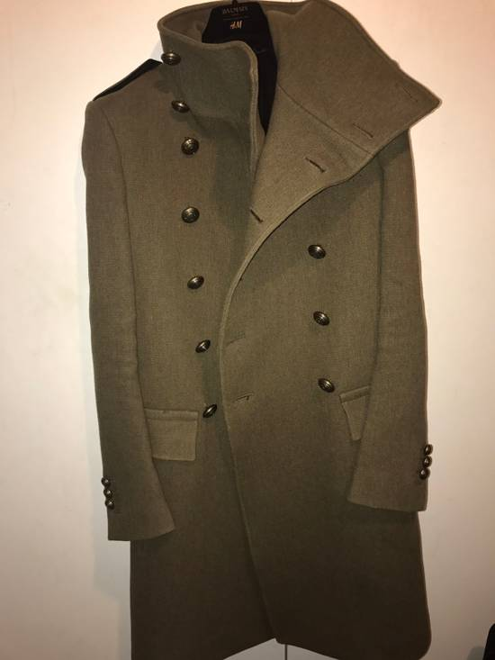 Balmain Balmian Army Green Chief Coat (heavy Thread!) Size US S / EU 44-46 / 1 - 2
